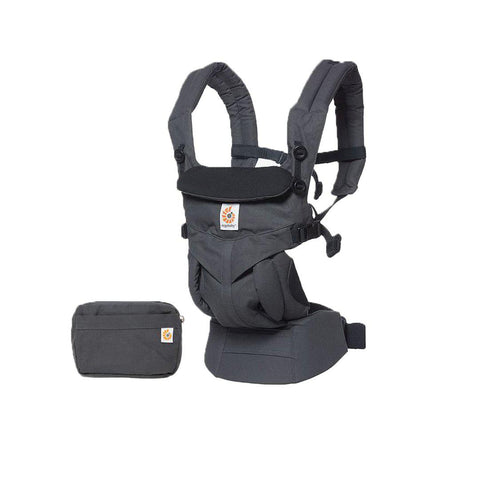 Ergobaby Omni 360 Carrier - Charcoal-Baby Carriers-Charcoal- Natural Baby Shower