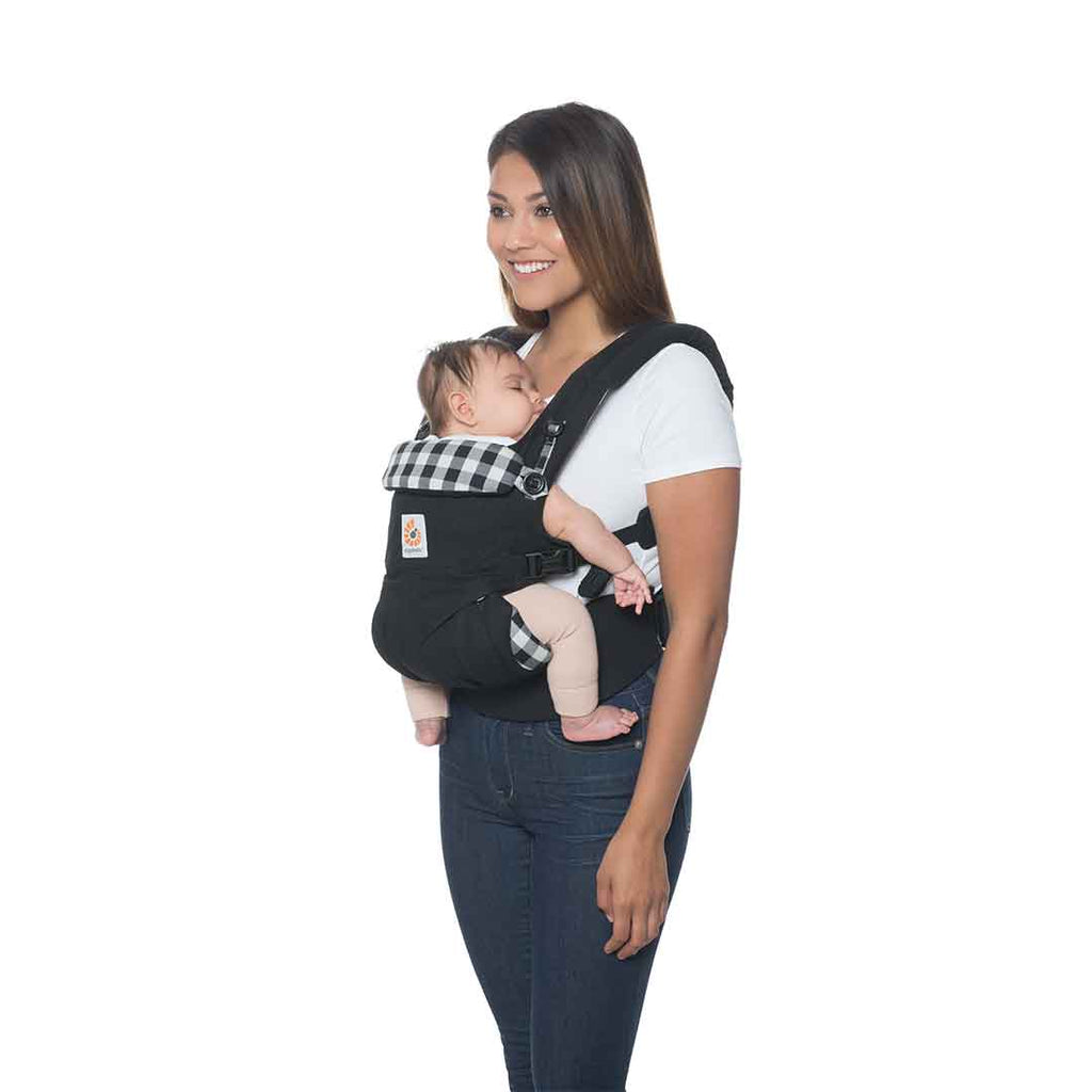 42eb83bf851 ... Ergobaby Omni 360 Carrier - Gingham-Baby Carriers-Gingham- Natural Baby  Shower ...