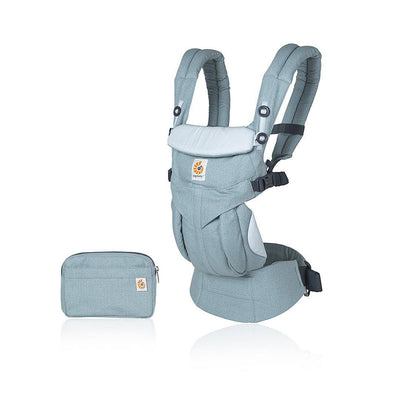 Ergobaby Omni 360 Carrier - Heritage Blue-Baby Carriers- Natural Baby Shower