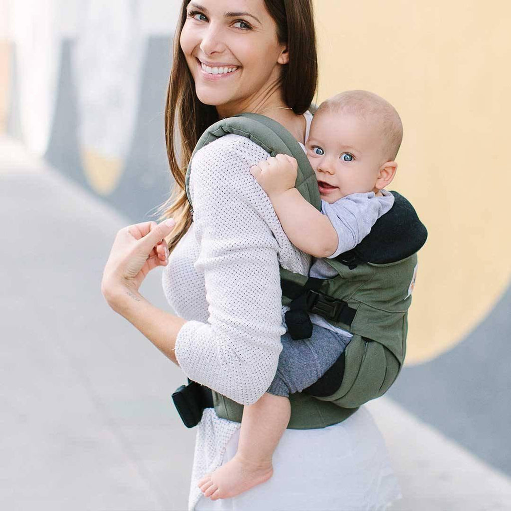 319408ebe0b ... Ergobaby Omni 360 Carrier - Khaki Green-Baby Carriers-Khaki Green-  Natural Baby