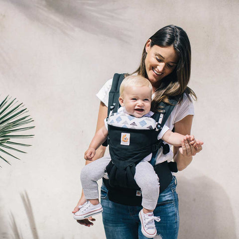 Ergobaby Omni 360 Carrier - Triple Triangles-Baby Carriers-Triple Triangles- Natural Baby Shower