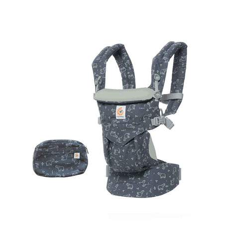 Ergobaby Omni 360 Carrier - Trunks Up-Baby Carriers-Trunks Up- Natural Baby Shower