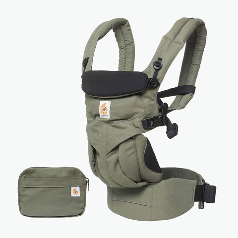 Ergobaby Omni 360 Carrier - Khaki Green-Baby Carriers-Khaki Green- Natural Baby Shower
