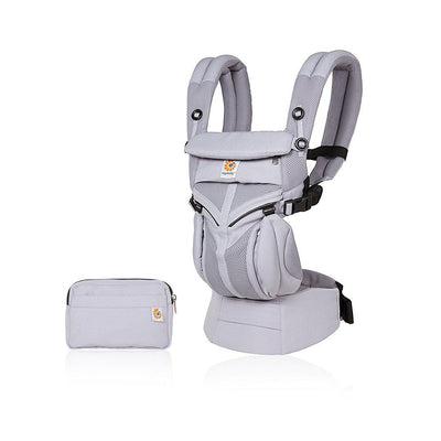 Ergobaby Omni 360 Cool Air Mesh Carrier - Lilac Grey-Baby Carriers- Natural Baby Shower