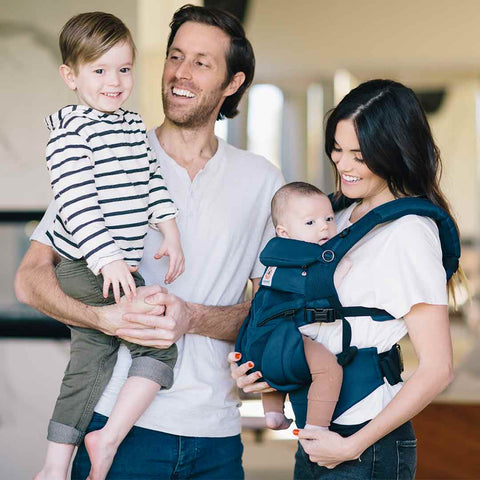 Ergobaby Omni 360 Cool Air Mesh Carrier - Midnight Blue-Baby Carriers-Midnight Blue- Natural Baby Shower