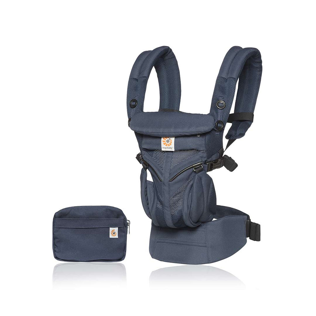 6c5d8a0ac8f Ergobaby Omni 360 Cool Air Mesh Carrier - Midnight Blue-Baby Carriers-Midnight  Blue ...