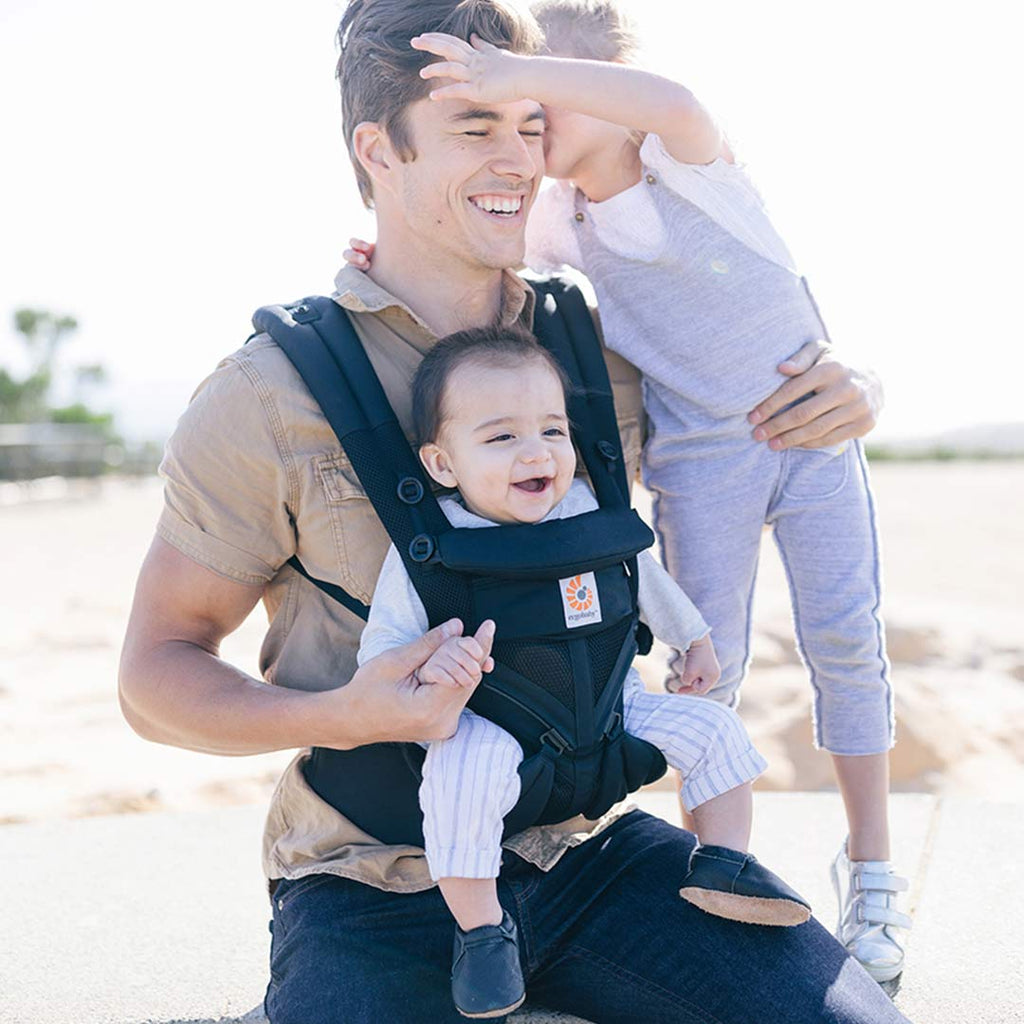 6d3521dc8d7 ... Ergobaby Omni 360 Cool Air Mesh Carrier - Onyx Black-Baby  Carriers-Black-