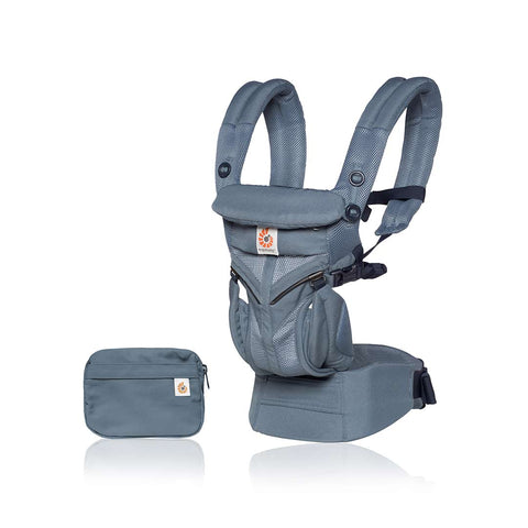 Ergobaby Omni 360 Cool Air Mesh Carrier - Oxford Blue-Baby Carriers-Oxford Blue- Natural Baby Shower