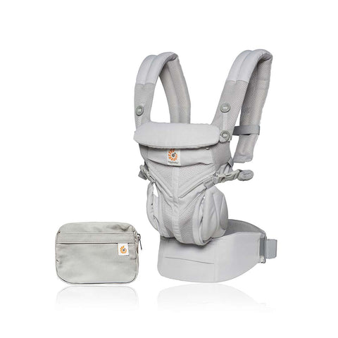 Ergobaby Omni 360 Cool Air Mesh Carrier - Pearl Grey-Baby Carriers-Pearl Grey- Natural Baby Shower