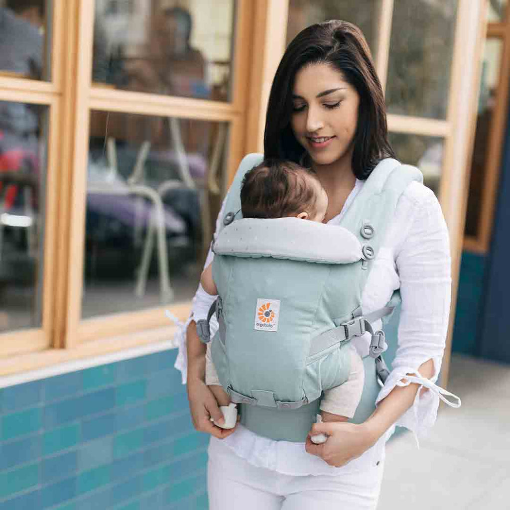 ... Ergobaby Original Adapt Carrier - Frosted Mint-Baby Carriers-Frosted  Mint- Natural Baby