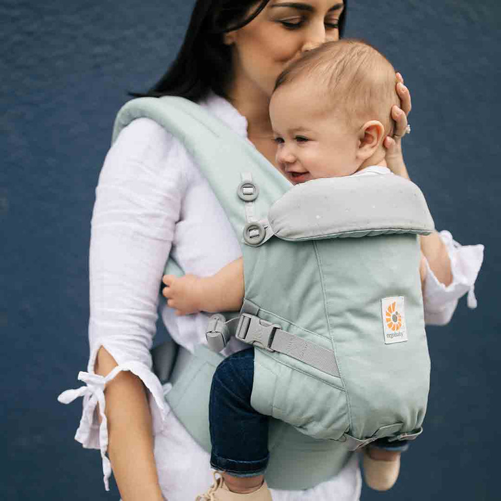 Ergobaby Original Adapt Carrier - Frosted Mint-Baby Carriers-Frosted Mint- Natural Baby Shower