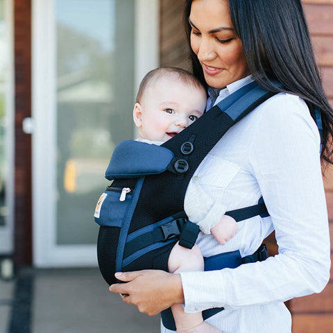 Ergobaby Original Adapt Cool Mesh Carrier - Raven-Baby Carriers-Raven- Natural Baby Shower