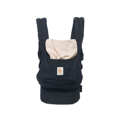 Ergobaby Original Carrier - Black & Camel-Baby Carriers- Natural Baby Shower