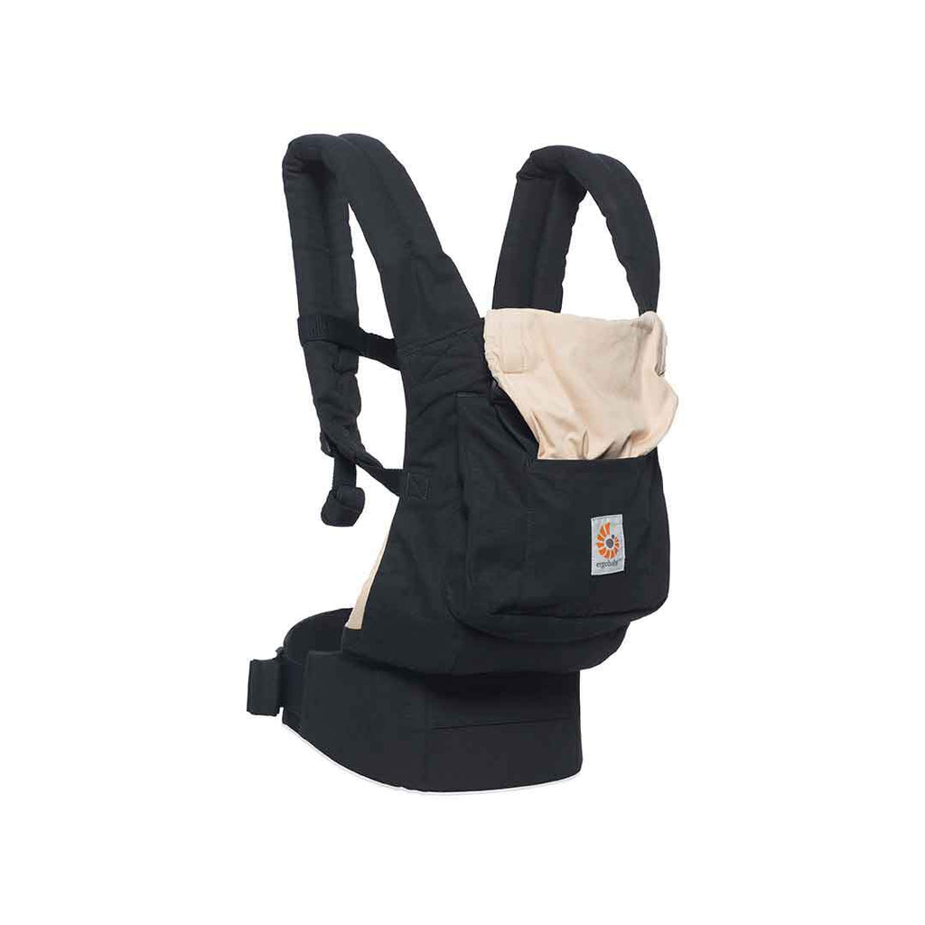 Ergobaby Original Carrier - Black & Camel Side