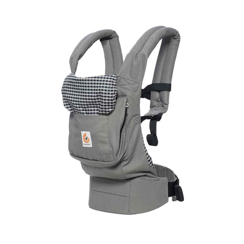 Ergobaby Original Carrier - Steel Plaid-Baby Carriers- Natural Baby Shower