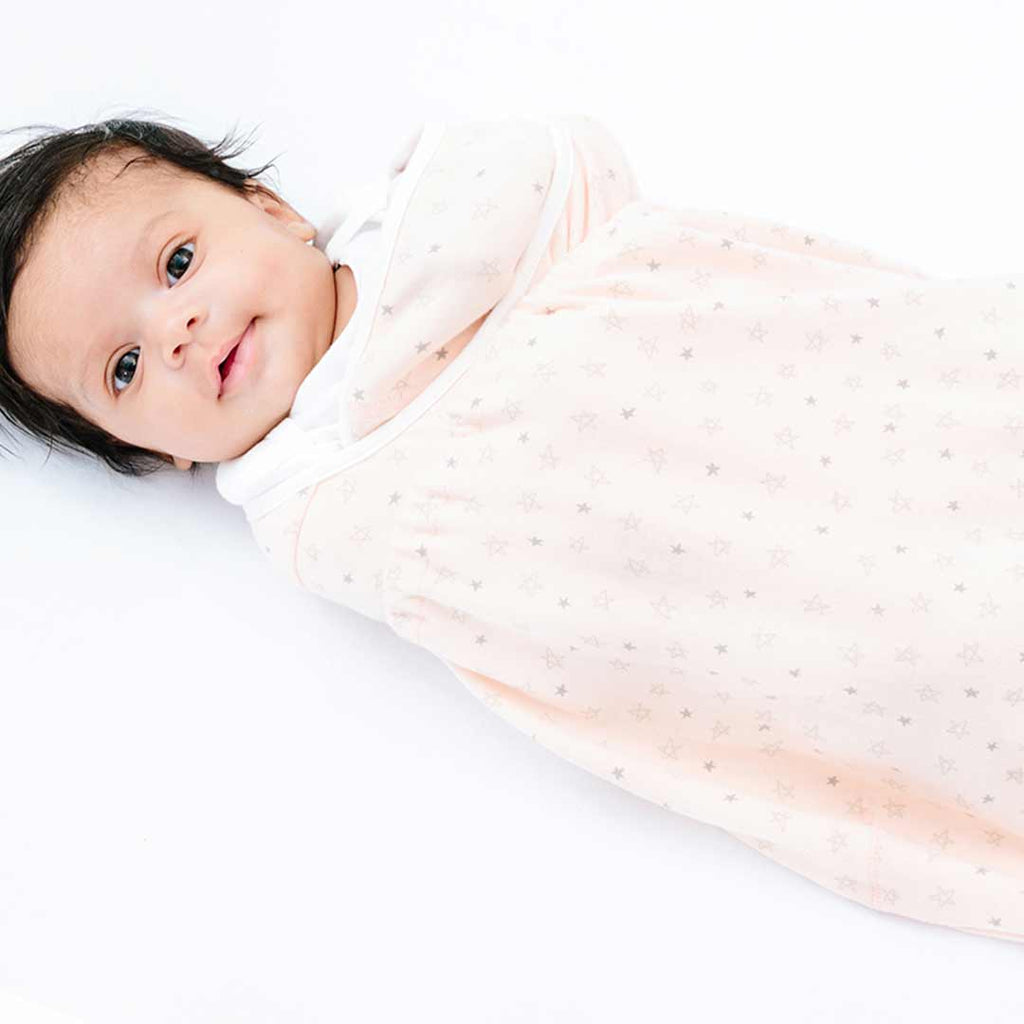 Ergobaby Swaddler - Star Bright-Swaddling Wraps-One Size-Star Bright- Natural Baby Shower