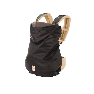 Ergobaby Winter Weather Cover 2 in 1 - Black-Baby Carrier Covers-Black- Natural Baby Shower