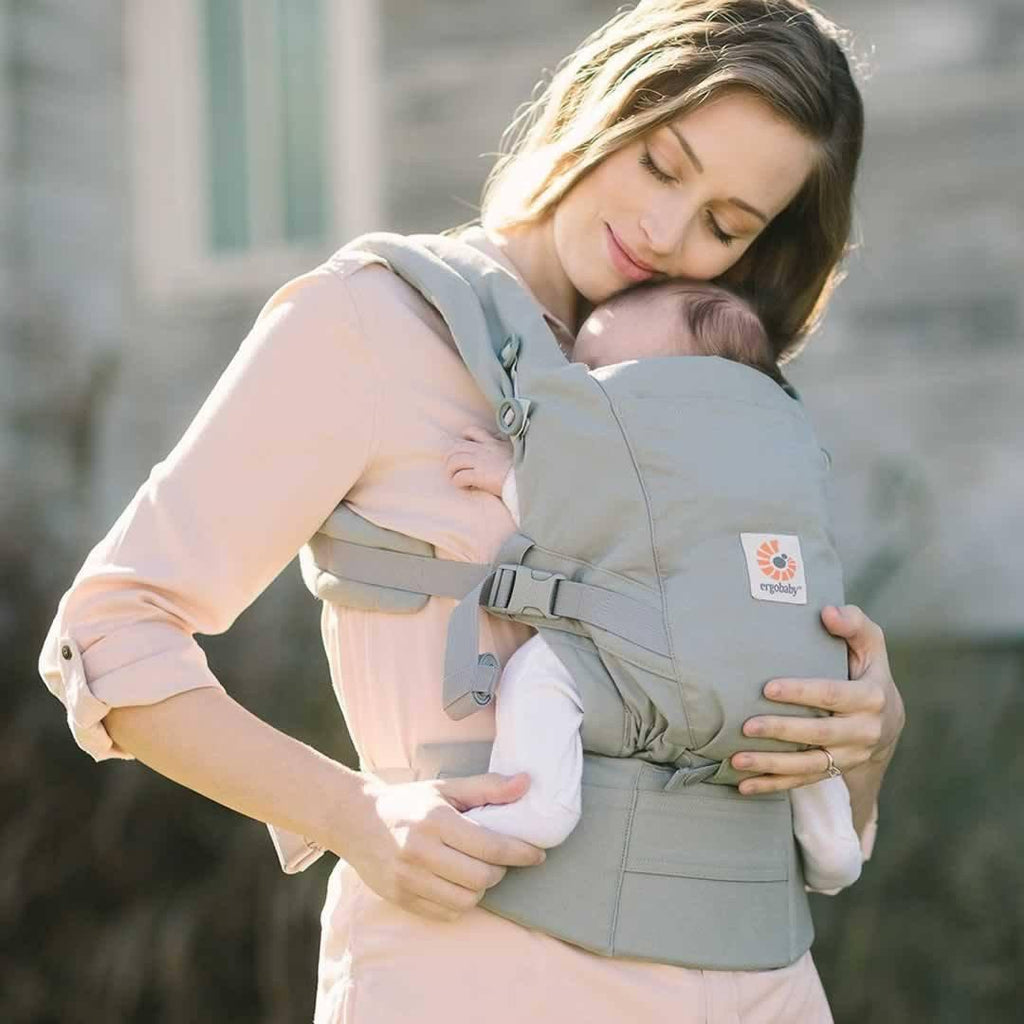 Ergobaby Adapt Carrier - Pearl Grey Lifestyle