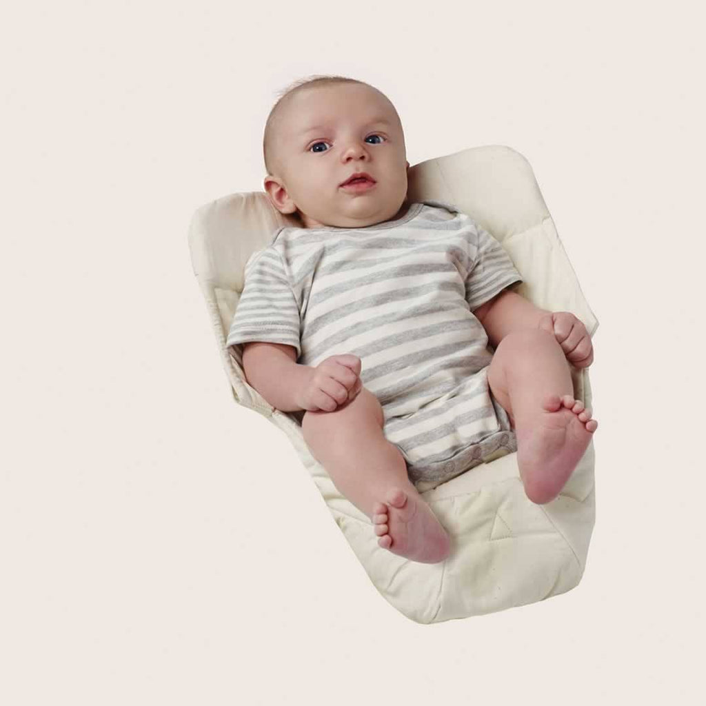 Ergobaby Easy Snug Infant Insert - Organic Natural - Baby Carriers - Natural Baby Shower