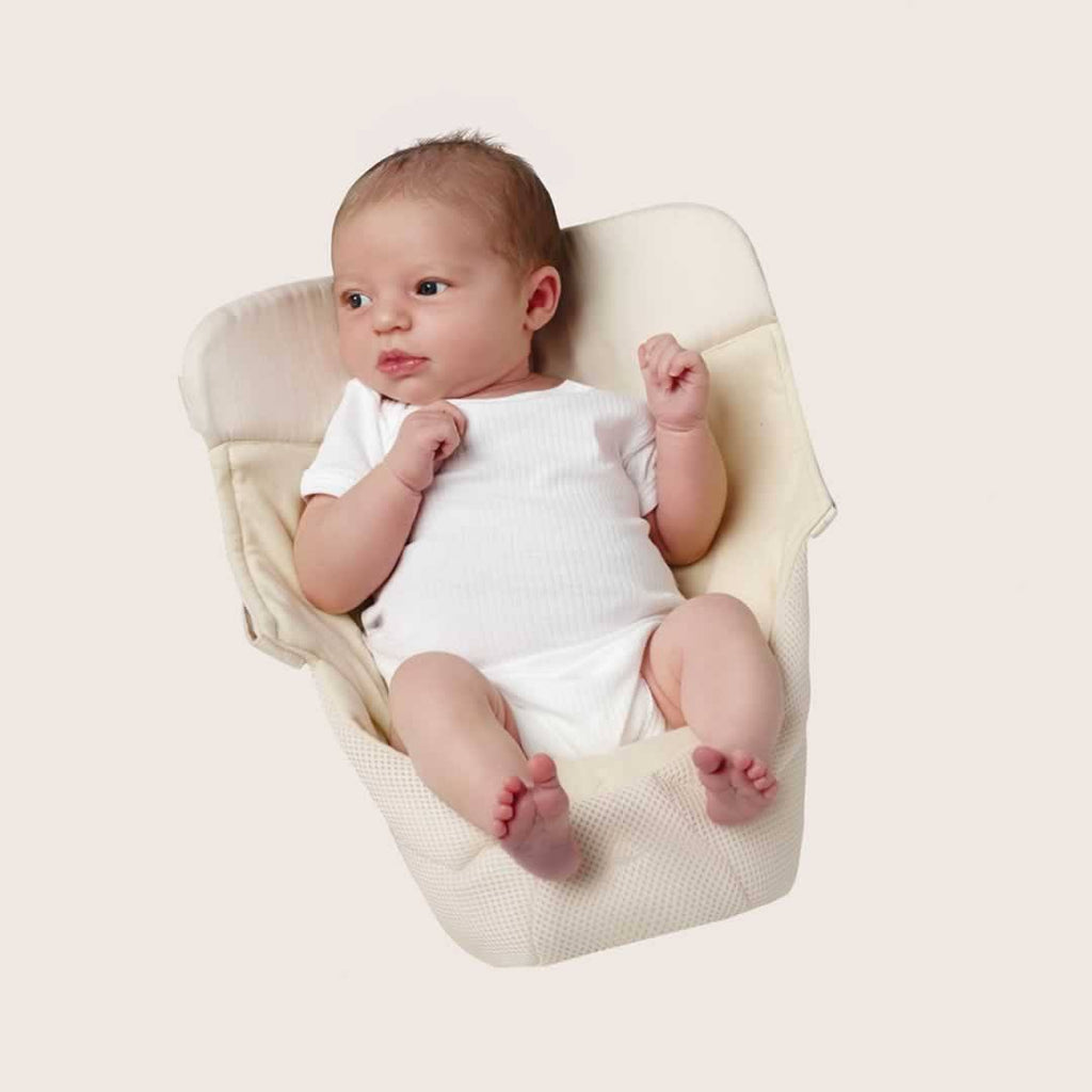 Ergobaby Easy Snug Infant Insert - Performance Cool Mesh Natural Lifestyle