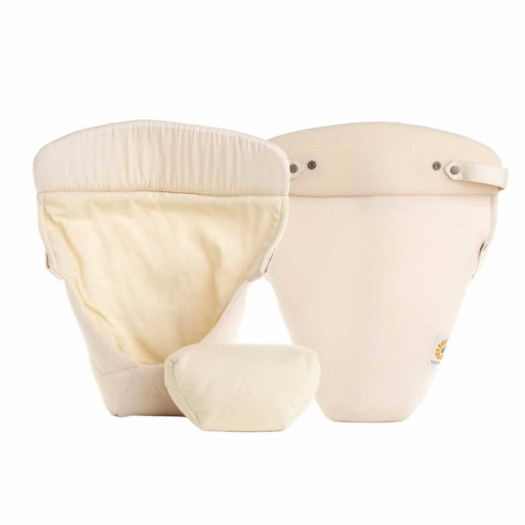 Ergobaby Easy Snug Infant Insert - Performance Cool Mesh Natural