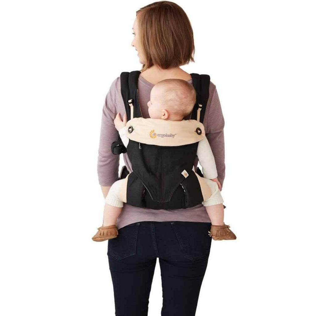 Ergobaby Four Position 360 Carrier - Grey Back Carry