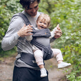 Ergobaby Four Position 360 Carrier - Performance Cool Air Carbon Grey Lifestyle