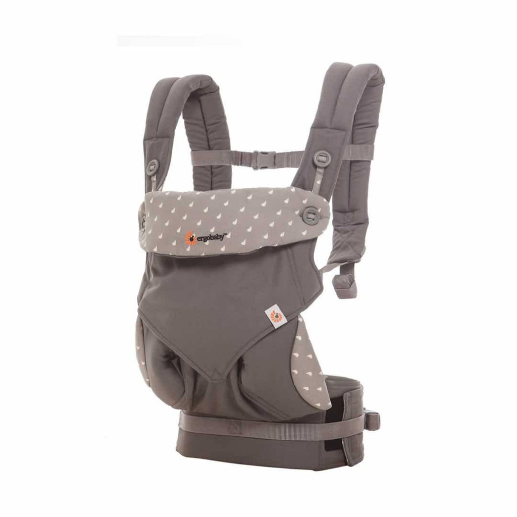 Ergobaby Four Position 360 Carrier - Dewey Grey Side