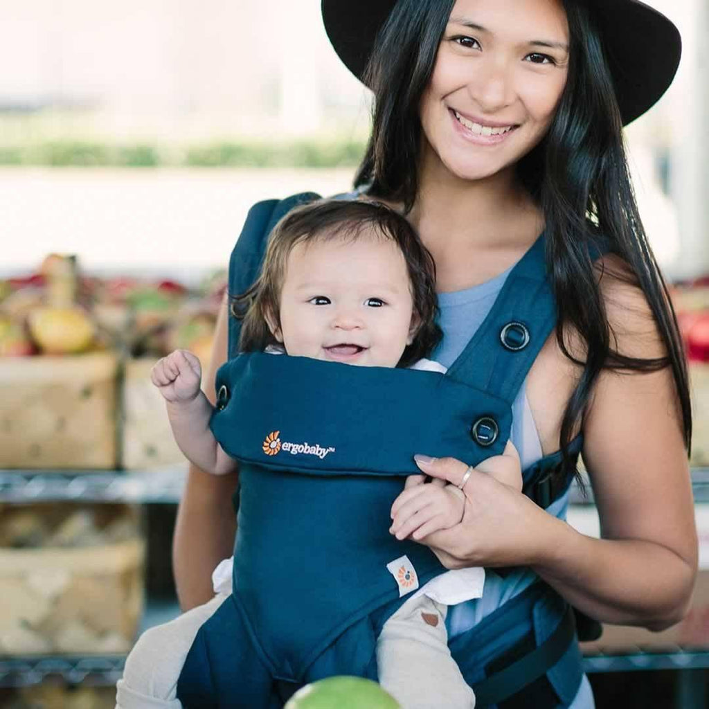 Ergobaby Four Position 360 Carrier - Midnight Blue - Baby Carriers - Natural Baby Shower