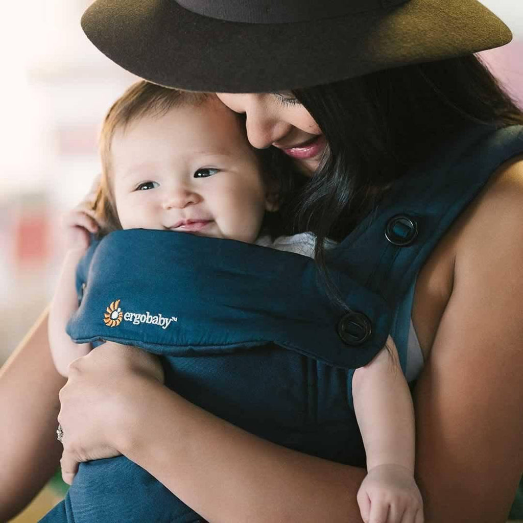 Ergobaby Four Position 360 Carrier Midnight Blue Lifestyle