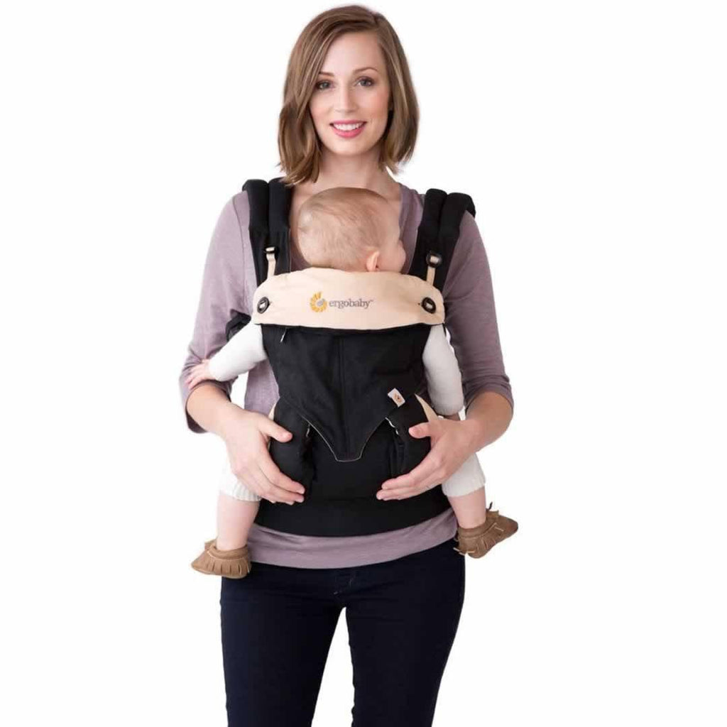 Ergobaby Four Position 360 Carrier - Grey Front Inwards