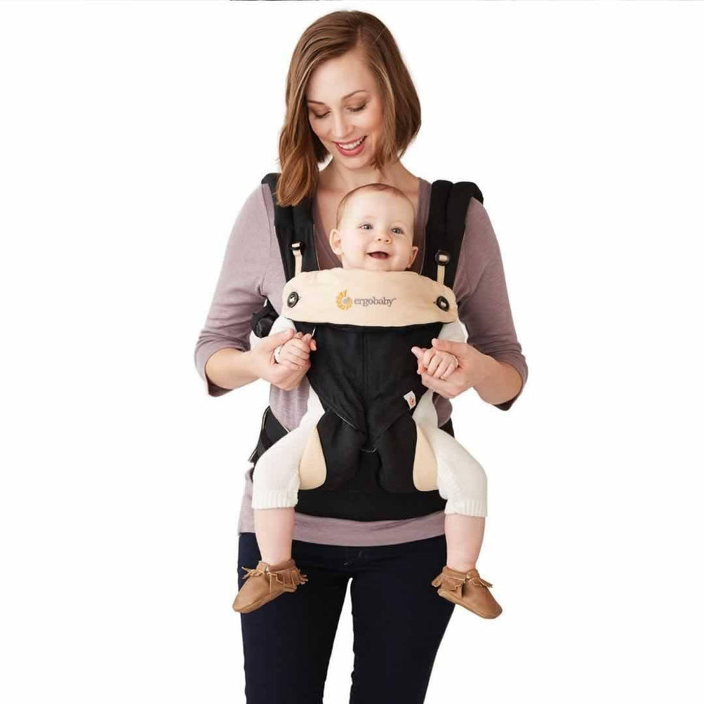 Ergobaby Four Position 360 Carrier - Grey Front Outwards