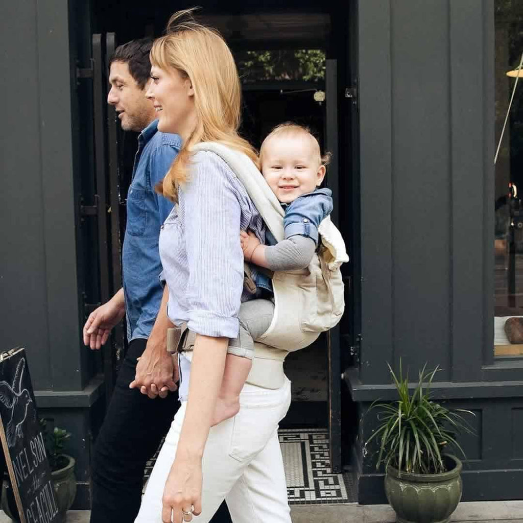 Ergobaby Original Carrier - Natural Linen Lifestyle