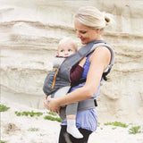 Ergobaby Performance Carrier Stone Grey Lifestyle