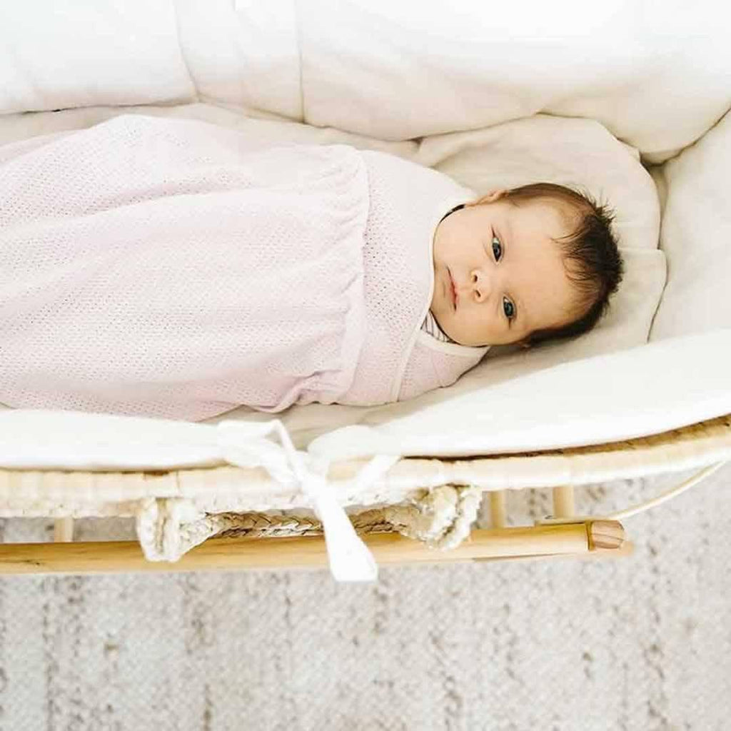 Ergobaby Swaddler - Lightweight Lilac-Swaddling Wraps-One Size-Lilac- Natural Baby Shower