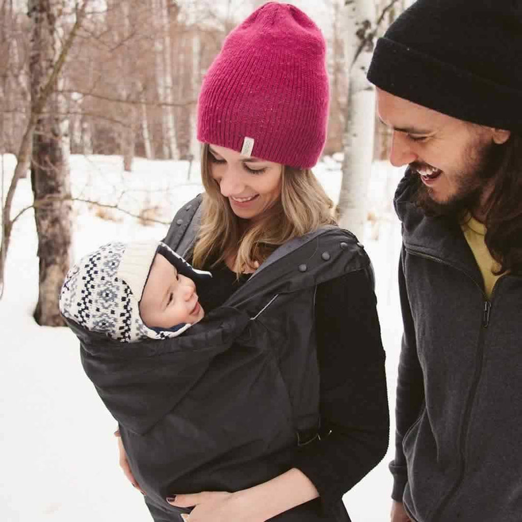 Ergobaby Winter Weather Cover - Black Lifestyle