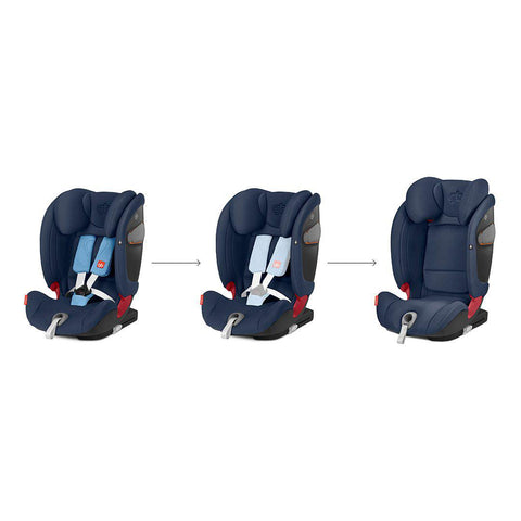 gb Everna-Fix Car Seat - Night Blue-Car Seats- Natural Baby Shower