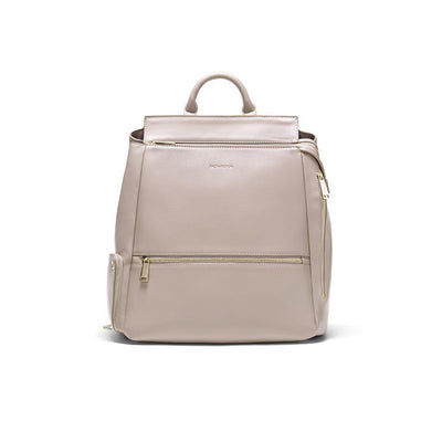 FACT + FICTION Charli Backpack - Smoke-Changing Bags- Natural Baby Shower