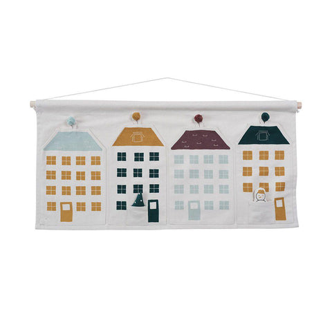Fabelab Advent Calendar - Town Houses-Nursery Accessories- Natural Baby Shower