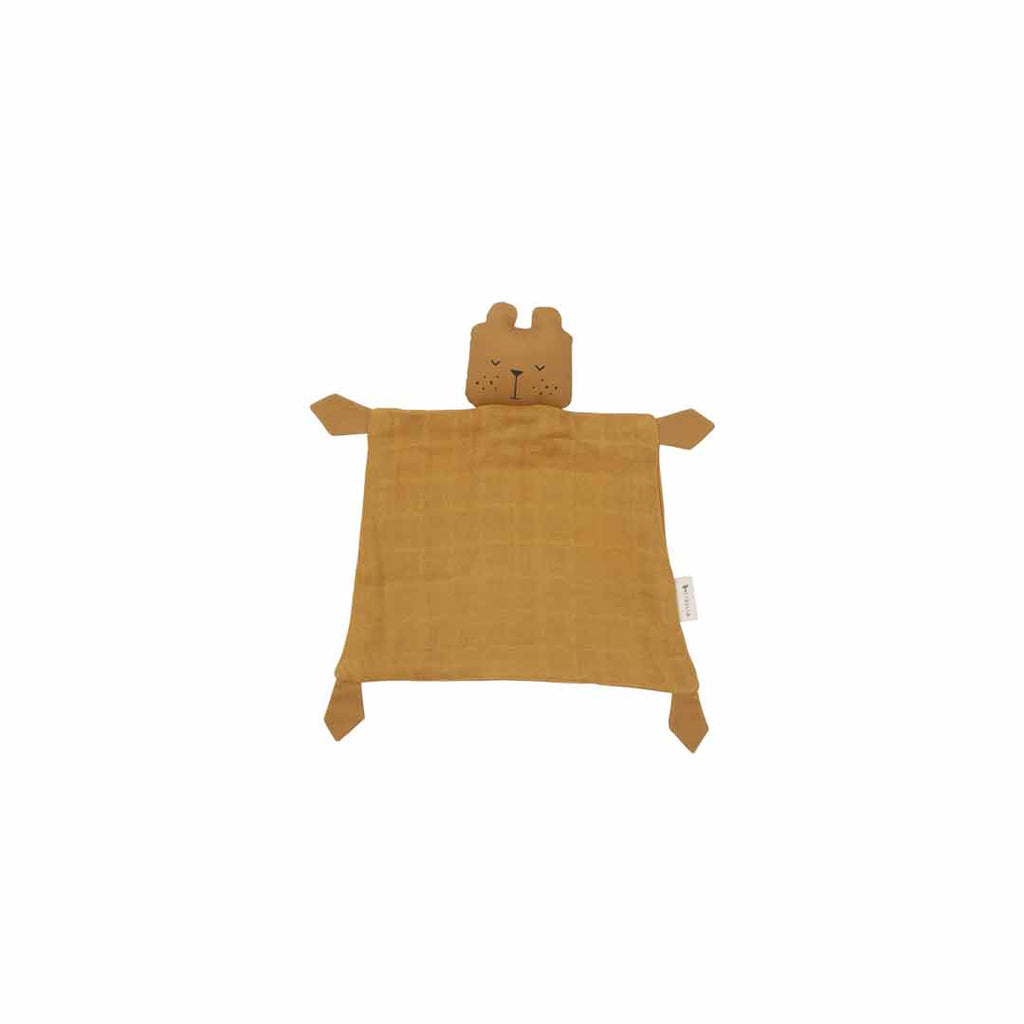 Fabelab Animal Cuddle - Bear Ochre-Comforters- Natural Baby Shower