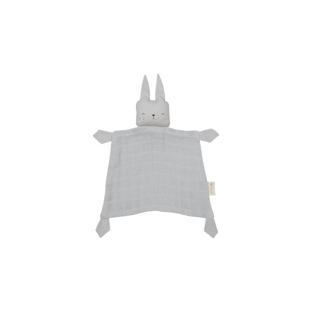 Fabelab Animal Cuddle - Bunny - Ice Grey-Comforters- Natural Baby Shower