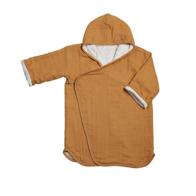 Fabelab Bathrobe - Ochre-Towels & Robes- Natural Baby Shower