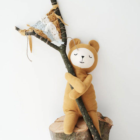 Fabelab Buddy - Bear-Soft Toys- Natural Baby Shower