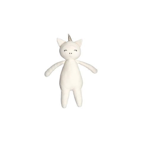 Fabelab Buddy - Unicorn - Natural-Soft Toys- Natural Baby Shower