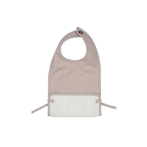 Fabelab Coated Bib - Mauve-Bibs- Natural Baby Shower