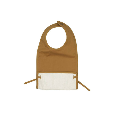 Fabelab Coated Bib - Ochre-Bibs- Natural Baby Shower
