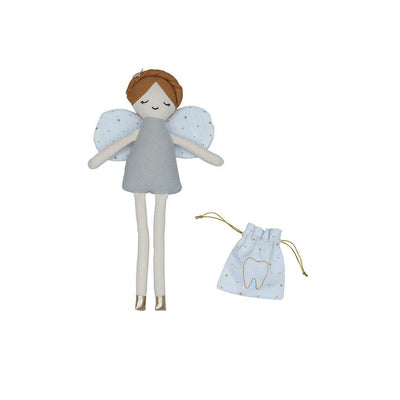 Fabelab Doll - Tooth Fairy with Pouch-Soft Toys- Natural Baby Shower