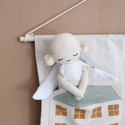Fabelab Doll - Winter Fairy-Soft Toys- Natural Baby Shower