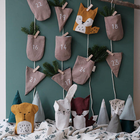 Fabelab In the Wood Christmas Calendar-Nursery Accessories- Natural Baby Shower