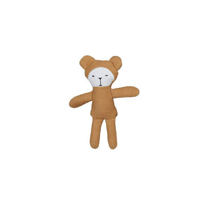 Fabelab Pocket Friend - Bear - Ochre-Soft Toys- Natural Baby Shower